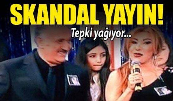 Yayında skandal!