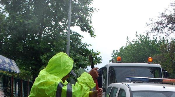 Yaz Yağmuru Salihli'de Hayatı Olumsuz Etkiledi
