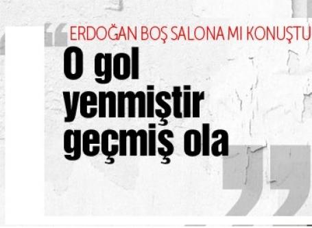 Yeni Akit yazarı 'Erdoğan boş salona konuştu' diyenlere çattı
