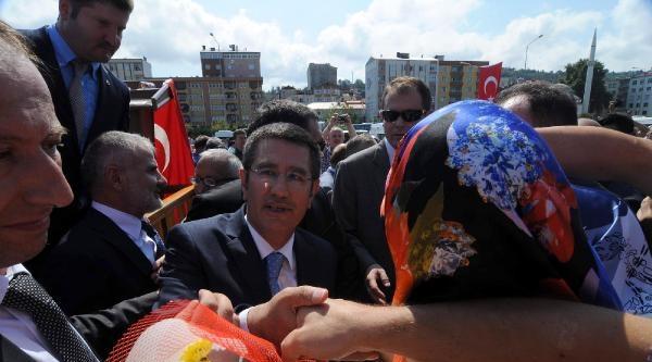 Yeni Bakan Canikli'ye Giresun'da Coşkulu Karşılama