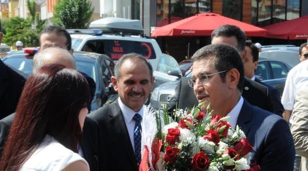 Yeni Bakan Canikli'ye Giresun'da Coşkulu Karşılama (2)