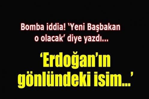 Yeni Başbakan Davutoğlu iddiası