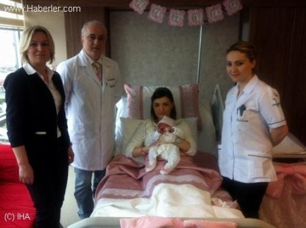 Yeni doğan bebek görenleri doktorları şok etti!