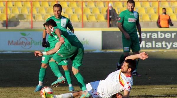 Yeni Malatyaspor-Giresunspor: 1-2