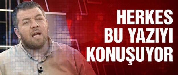 Yeni Şafak yazarından bomba yeni Türkiye yazısı