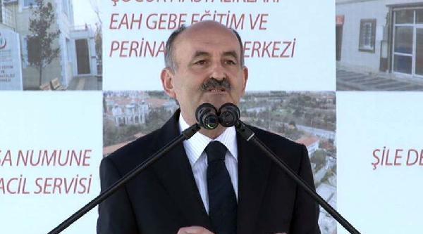 (yeniden -ek Bilgilerle) - Sağlık Bakanı Müezzinoğlu'ndan