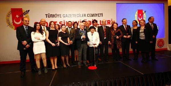 (Yeniden) - Sedat Simavi Ödülleri Sahiplerini Buldu