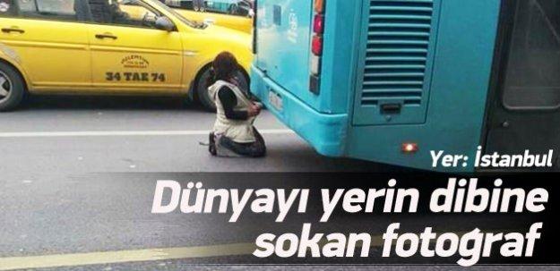 Yer: İstanbul! Dünyayı yerin dibine sokan fotoğraf!