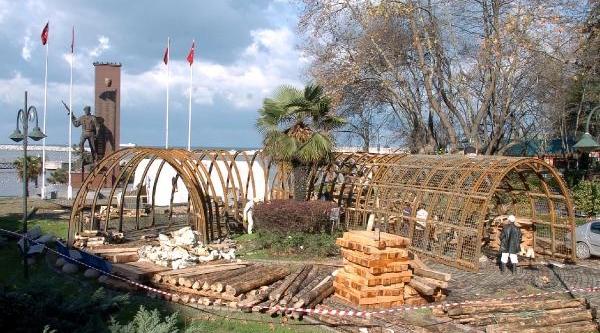 Yer Üstünde Maden Galerisi Kuruluyor