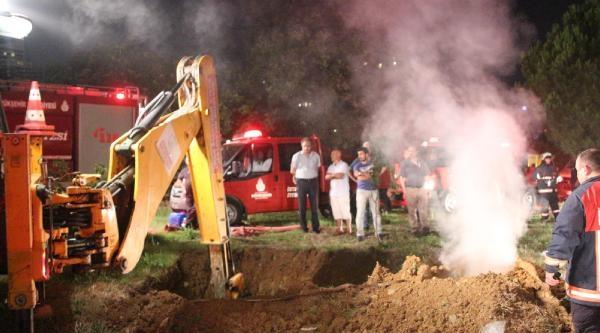 Yeraltı Kabloları Yandı, Kadıköy Bölgesi Karanlığa Gömüldü