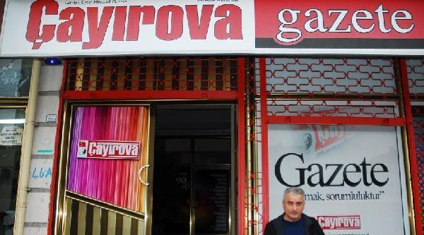 Yerel Gazeteye İşyeri Ruhsatı Yok Diye 'mühürleme' Tebligatı