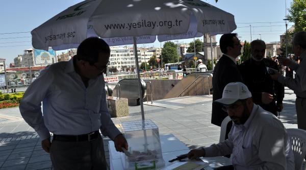 Yeşilay'dan Gazze İçin Yardım Kampanyası