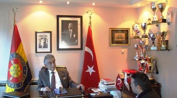 Yeşilyurt Spor Kulübü Başkanı Levent Gökçe: