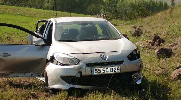 Yıldızeli'nde Trafik Kazası: 1 Ölü, 3 Yaralı