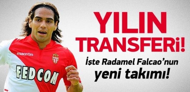 Yılın transferi! İşte Falcao'nun yeni takımı!