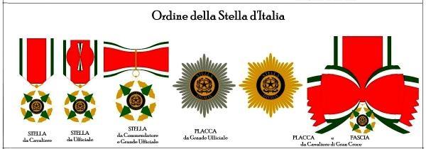 Yılmaz Ulusoy'a İtalya Yıldızı Nişanı