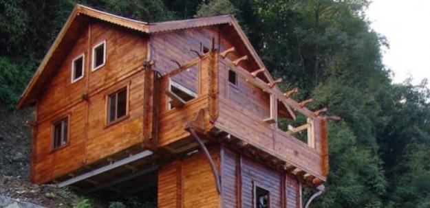 Yine Rize yine sınırları zorlayan ev