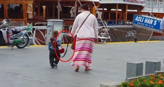 Yine tasmalı çocuk skandalı!