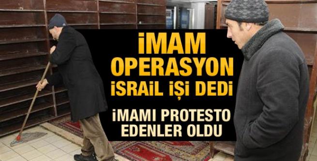 Yolsuzluk operasyonu eleştiren imama cemaat tepkisi!