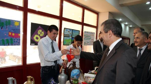 Yozgat'ta Engelli Öğrencilerin Sergisi