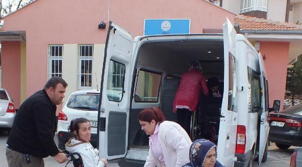 Yozgat'ta Engellilerin Oy Kullanma Çilesi