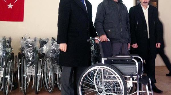 Yozgat'ta Gurbetçilerden Engellilere 83 Tekerlekli Sandalye
