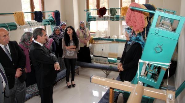 Yozgat'ta Hami-yet Projesi Kilim Desenleri Hayat Buluyor