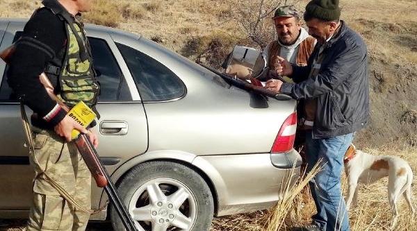 Yozgat'ta Kaçak Ava Gözalti