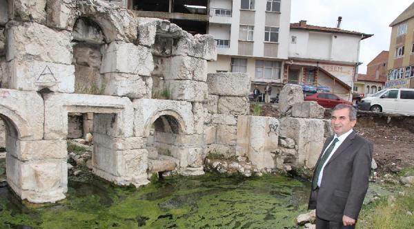 Yozgat'ta Roma Hamamı Gün Yüzüne Çikariliyor
