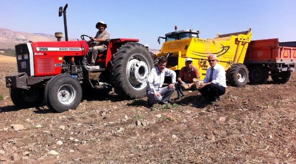 Yozgat'ta Taşlı Tarlalar Tarıma Kazandırılıyor