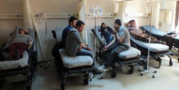 Yozgat'ta Üniversite Öğrencileri Yemekten Zehirlendi