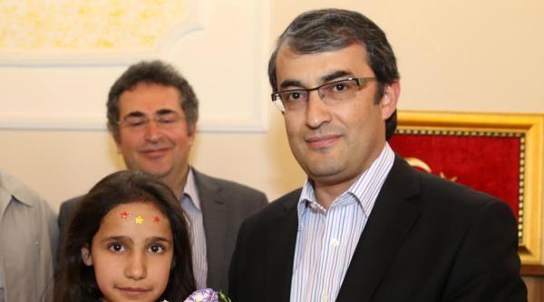 Yozgat'taki 'mutlu Yuva' Çocuklari Rektörü Ziyaret Etti