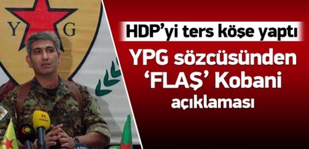 YPG: Biz öyle bir açıklama yapmadık