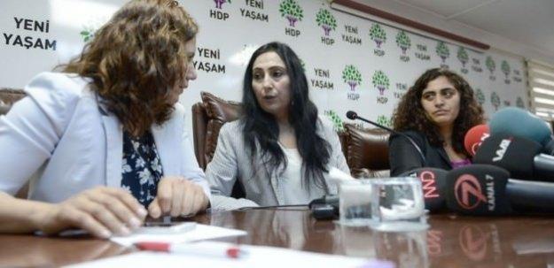 Yüksekdağ HDP'nin koalisyon şartlarını açıkladı