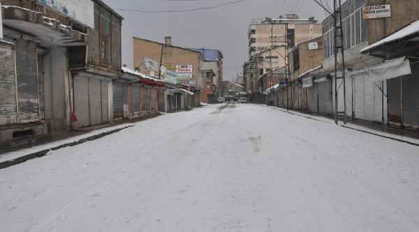 Yüksekova'da Kepekler Bugün De Açilmadi