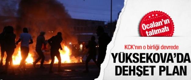 Yüksekova'da Öcalan talimatı uygulanıyor!