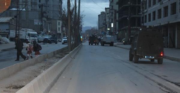 Yüksekova'da Olaylar Çikti