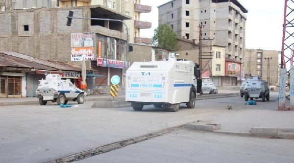 Yüksekova'da Yine Mobese Gerginliği