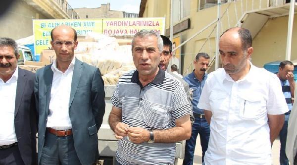 Yüksekova'dan Rojava'ya Yardım