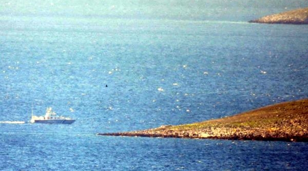 Yunan Sahil Güvenlik'ten Türk Balikçilara Taciz