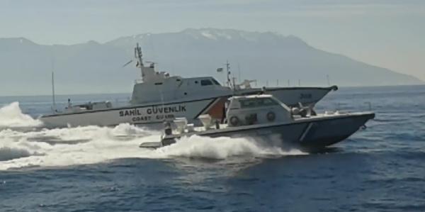 Yunan Tacizini, Türk Sahil Güvenlik Botu Engelledi