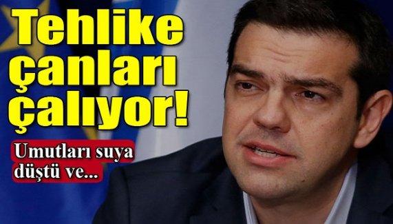 Yunanistan için tehlike çanları çalıyor!