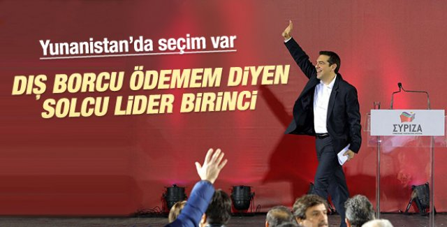 Yunanistan'daki seçimleri Syriza kazandı