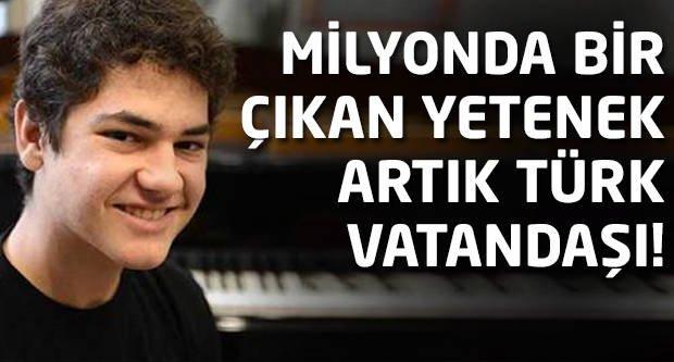 Yüzyılın dahisi artık Türk vatandaşı!