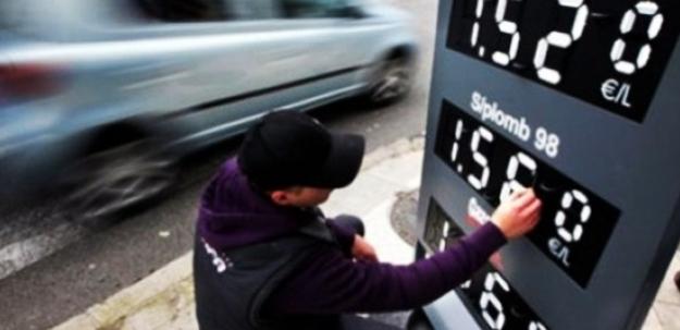 Zam sonrası benzin fiyatları...