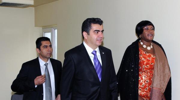 Zambiya Büyükelçisi Mulenga Kayseri'de