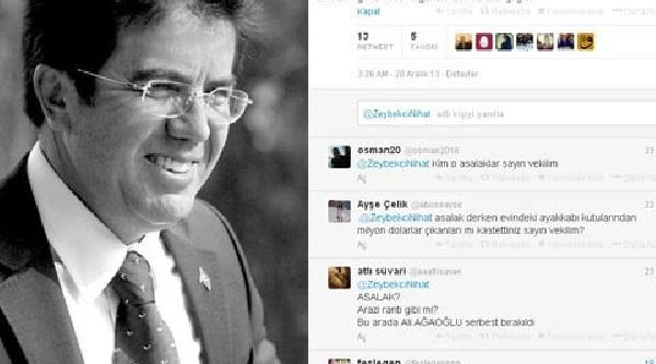 Zeybekçi'den Başbakan'i Öven Tweetler