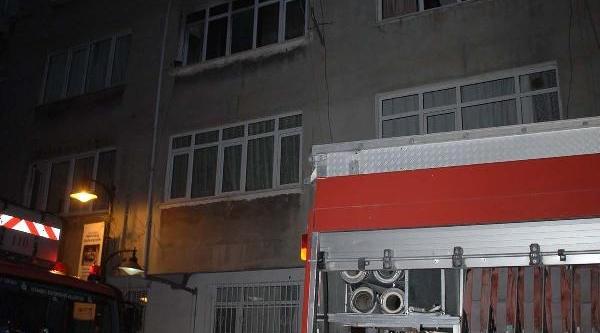 Zeytinburnu'nda Korkutan Yangin