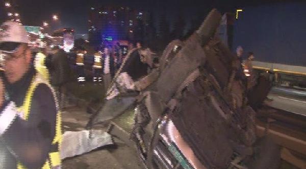Zırhlı Konsolosluk Aracı Bariyerlere Girdi: 1 Ölü