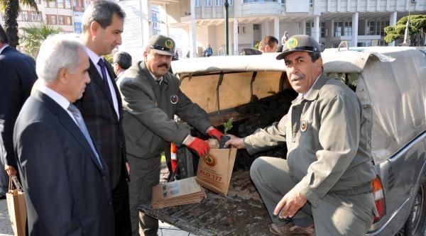 Zonguldak, Bartın Ve Karabük'te 20 Bin Fidan Dağıtıldı